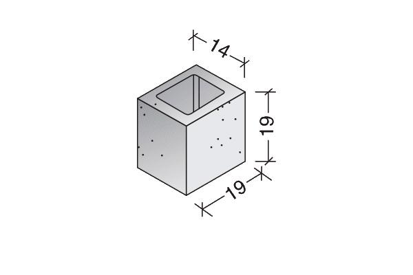 Medio Bloque Standard 15.