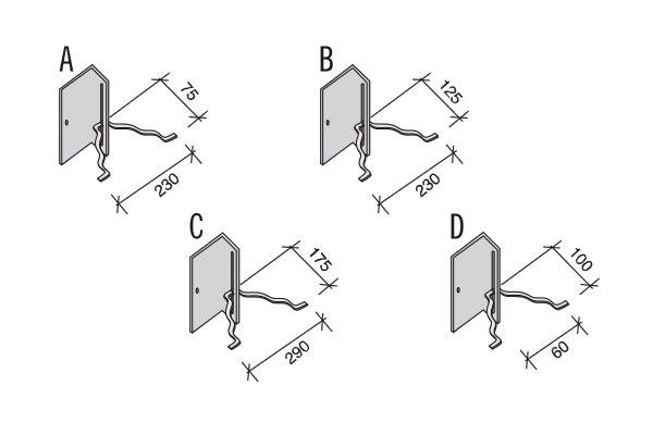 Sistema ALLWALL fijaciones a columna