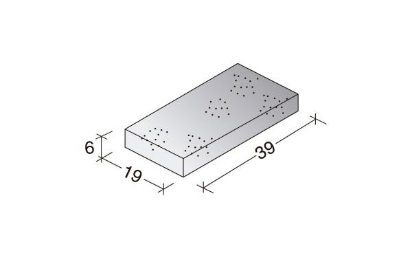 Loseta Standard 40 x 20 x 6 cm.