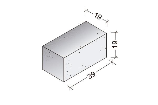Sólido Standard 40 x 20 x 20 cm.