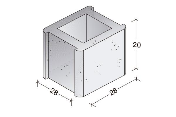 Pieza Standard, dos encajes, B. 20