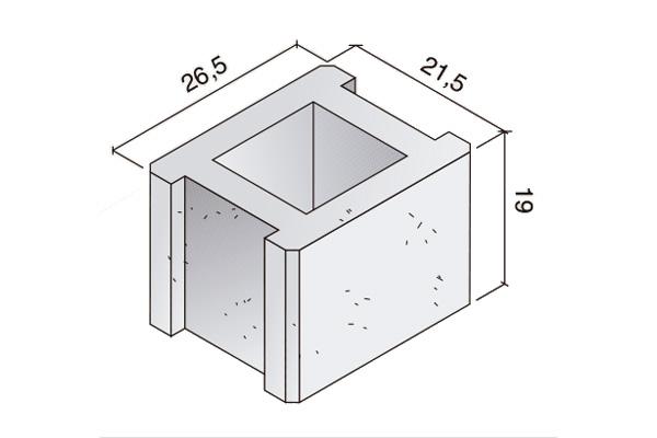 Pieza Standard, dos encajes, B. 12