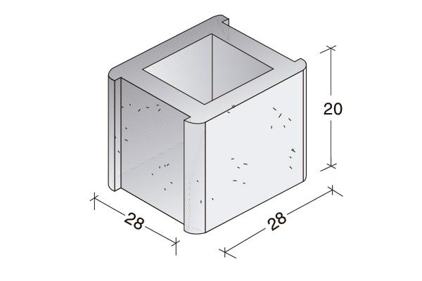 Pieza Standard, dos encajes, B. 15