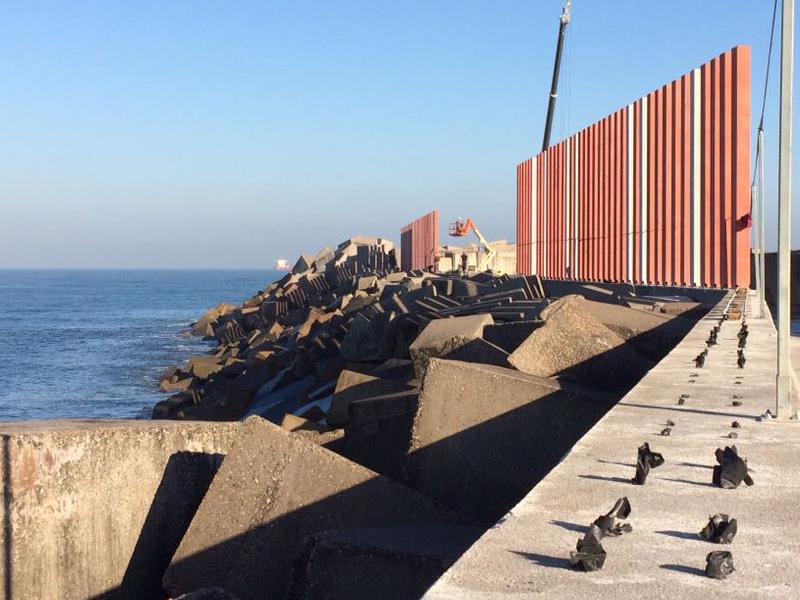 Proyecto de Juan Roces S.A. en el Puerto de Gijón
