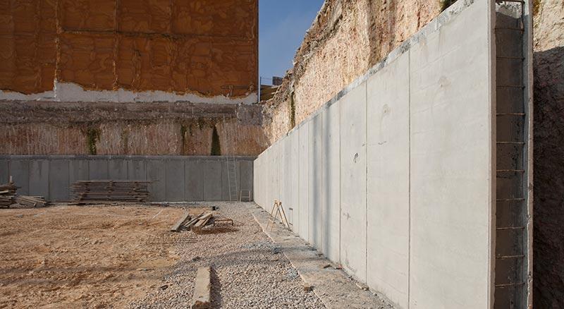 Muro de hormigón prefabricado Roces