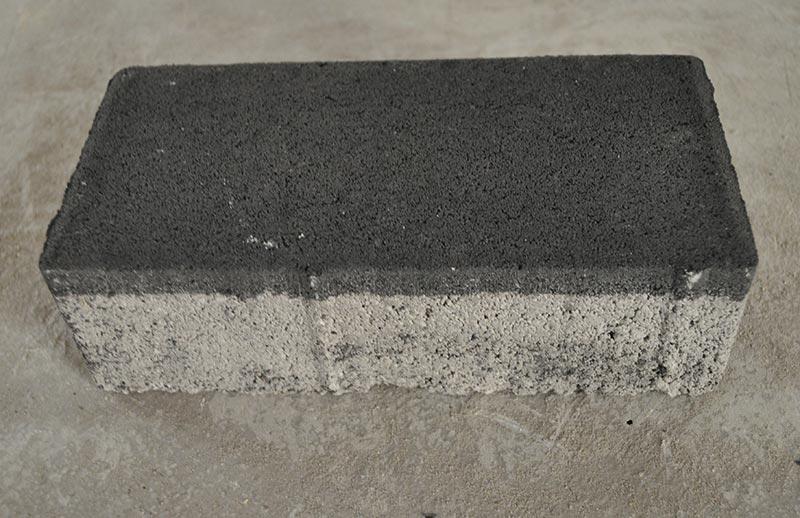 Adoquín bicapa rectangular